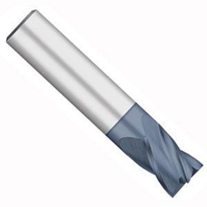 "3//4/"" LOC 4 Flute Single End AlTiN Carbide End Mill USA #56633 1//4/"" Diameter"