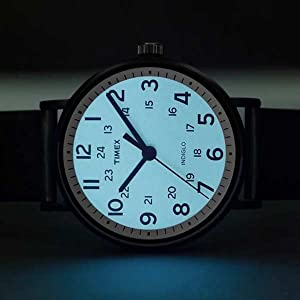 Timex Easy Reader Indiglo Light-Up Dial