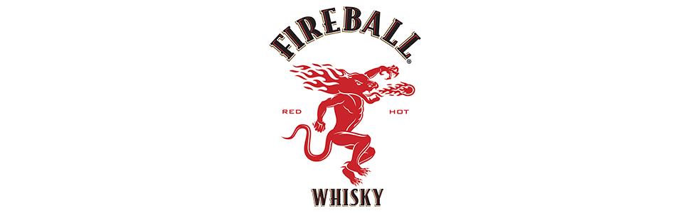 Fireball Cinnamon Whisky - botella de Licor de Whisky infusionado con canela - 700ml