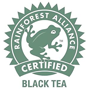 Sustainably Sourced and Rainforest Alliance Certified