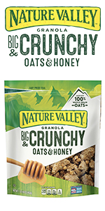 Nature valley granola crunchy oats & honey