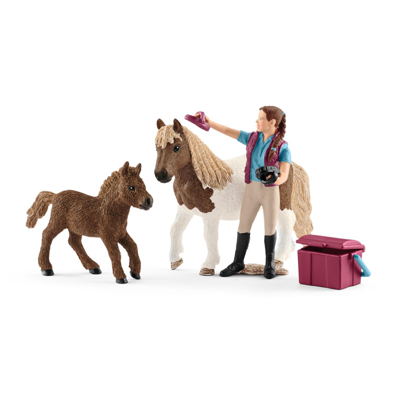 Amazon Schleich Horse Feeding Play Set Toys & Games