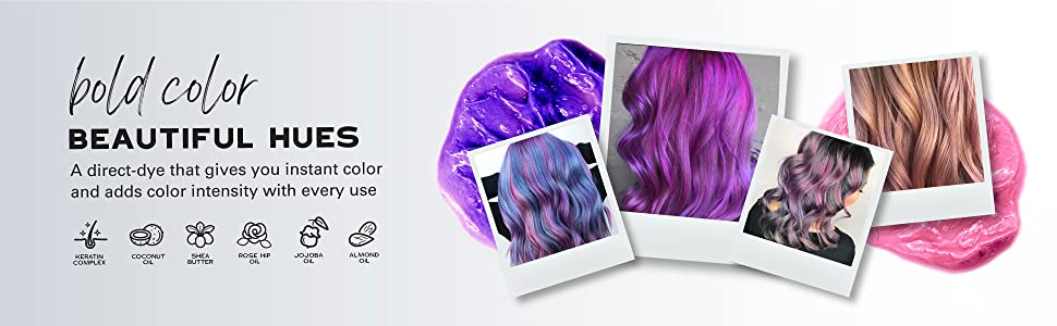 keracolor hair dye semi permanent hair color depositing conditioner cruelty free