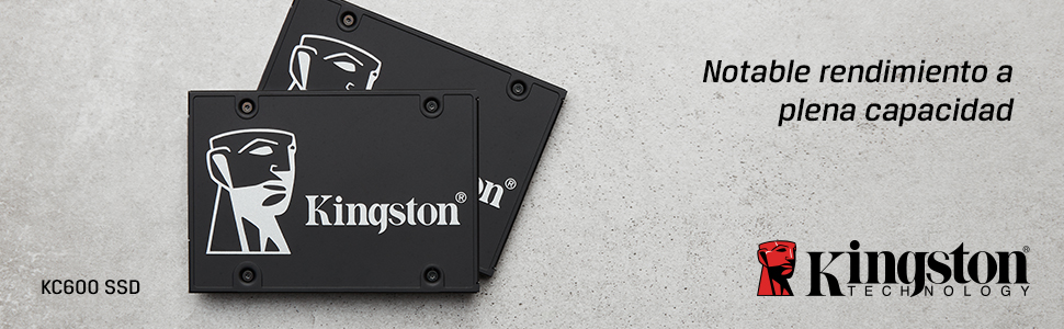 Kingston KC600 SSD SKC600B/1024G - Disco Duro sólido Interno 2.5 ...