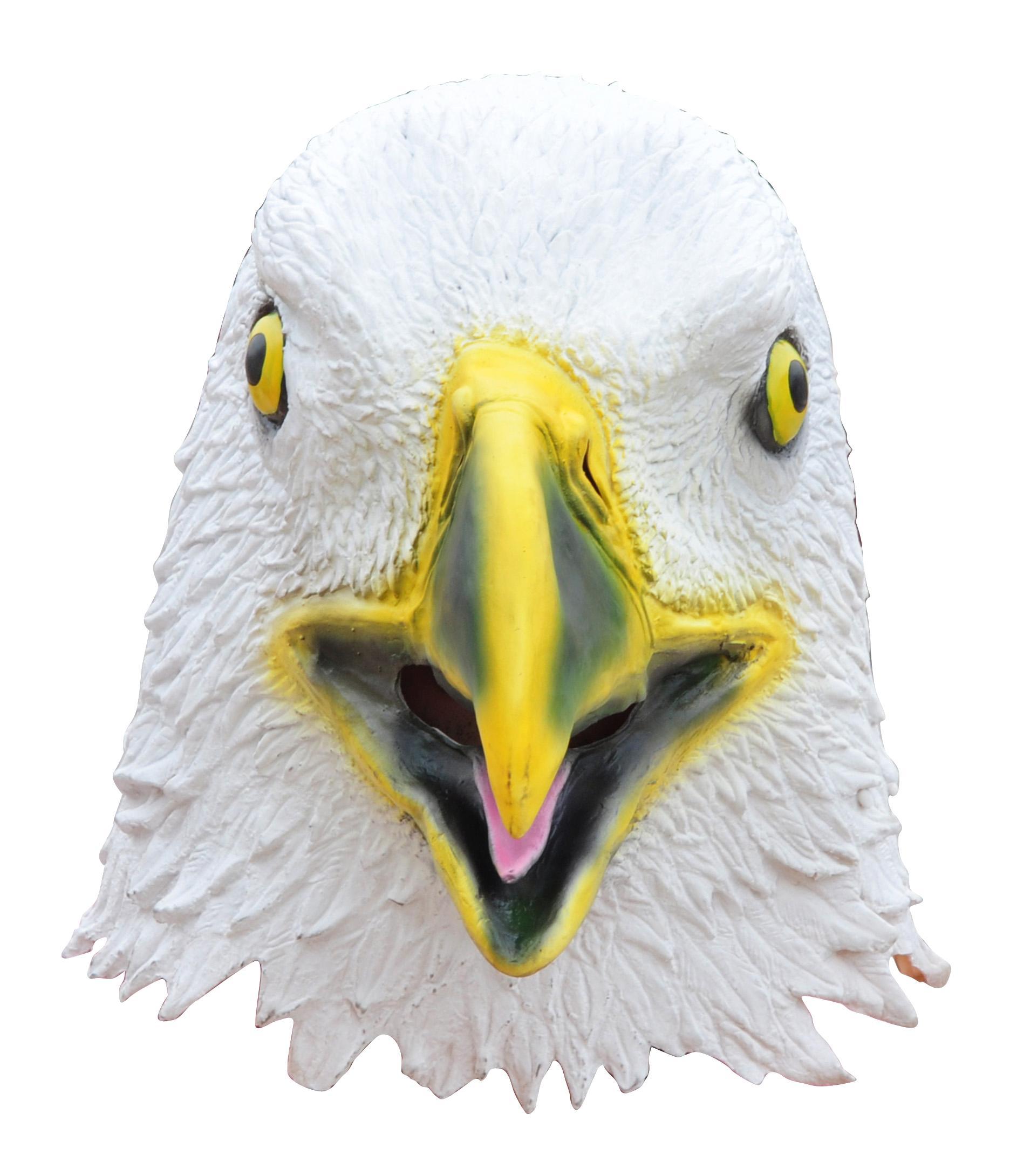 Amazon.com: Capital Costumes Giant Animal Masks - Eagle Costume Mask ...