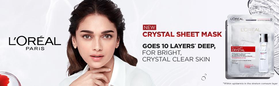 Crystal Sheet mask