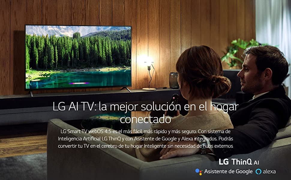 LG TV NanoCell AI, 55SM8500PLA, Smart TV 55