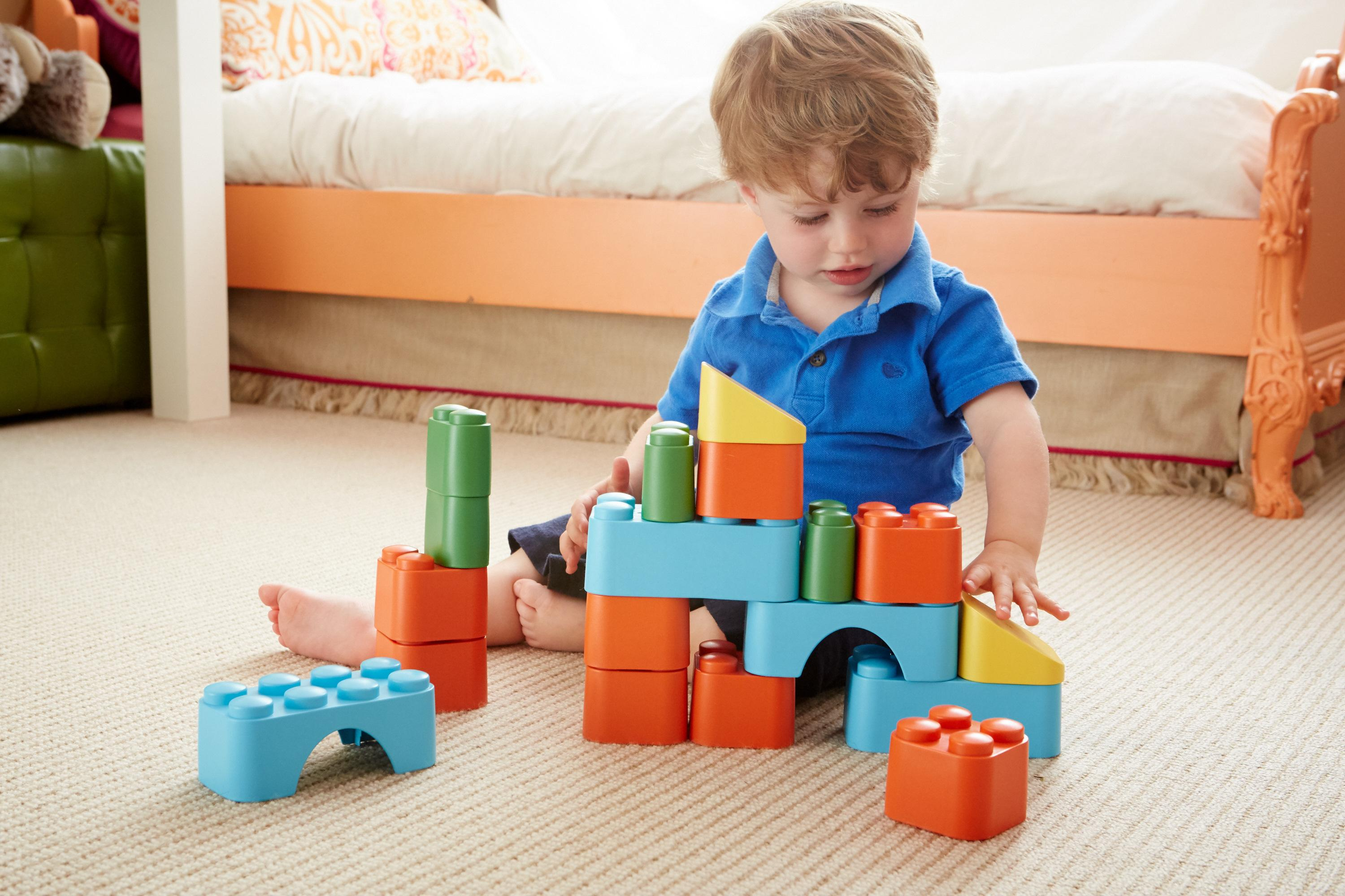 Amazon Green Toys Block Set Multi Toys & Games