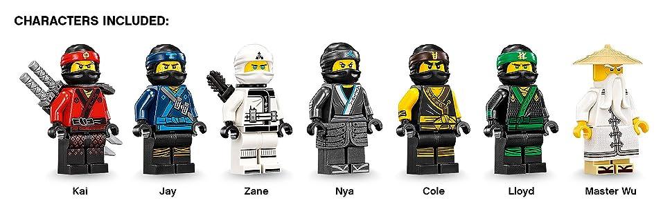 Amazon.com: LEGO Ninjago Movie Destiny's Bounty 70618 (2295 Piece ...