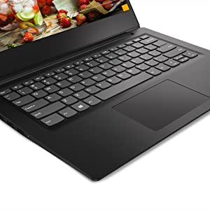 "Lenovo Ideapad S145 Notebook, Display 15,6"" HD, Processore AMD A62,6 GHz, 256GB SSD, RAM 4GB, Windows 10, Nero"
