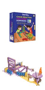 dominoes, dominos, stem toy, stem kit