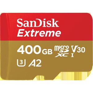 SanDisk Extreme - Tarjeta de memoria microSDXC de 128 GB con adaptador SD, A2, hasta 160 MB/s, Class 10, U3 y V30