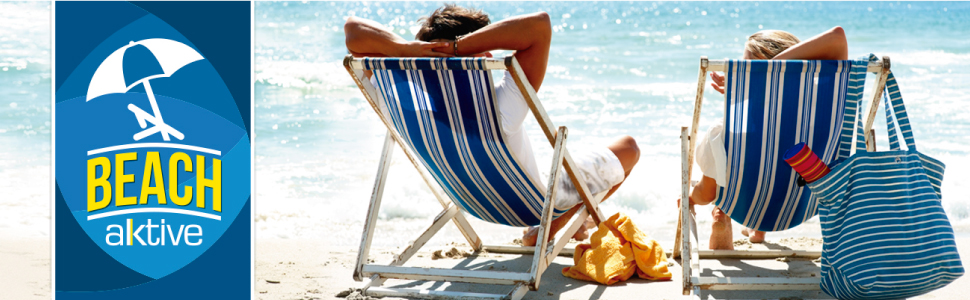Aktive 53928 Carro portasillas playa aluminio Beach, 52 x 37 ...