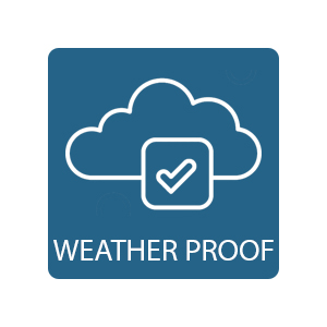 Weather Proof wind rain water resistant