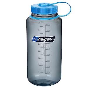 Amazon.com : Nalgene 32 oz Wide Mouth Reusable Bottle ...