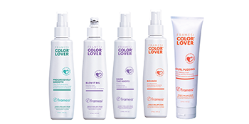 Framesi Color Lover Progressively Smooth, Raise The Roots, Blow It Big, Bounce, curl Pudding