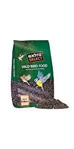 Extra Select, Wild Bird, Sunflower Seed, Wild bird