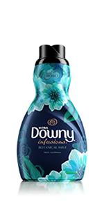 Downy, scented, liquid, fabric softener, Scent, odor, infusions, scent, liquid fabric conditioner