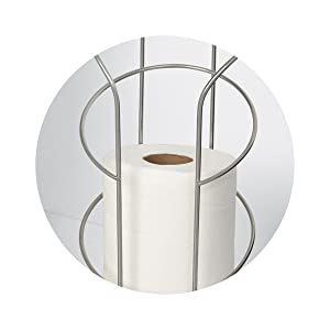 Toilet Paper Reserve Zenna Home 7656PC Satin Chrome Zenith Products Corp