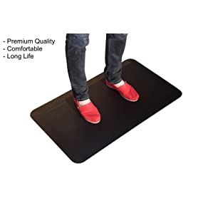 cushion anti fatigue standing desk floor mat