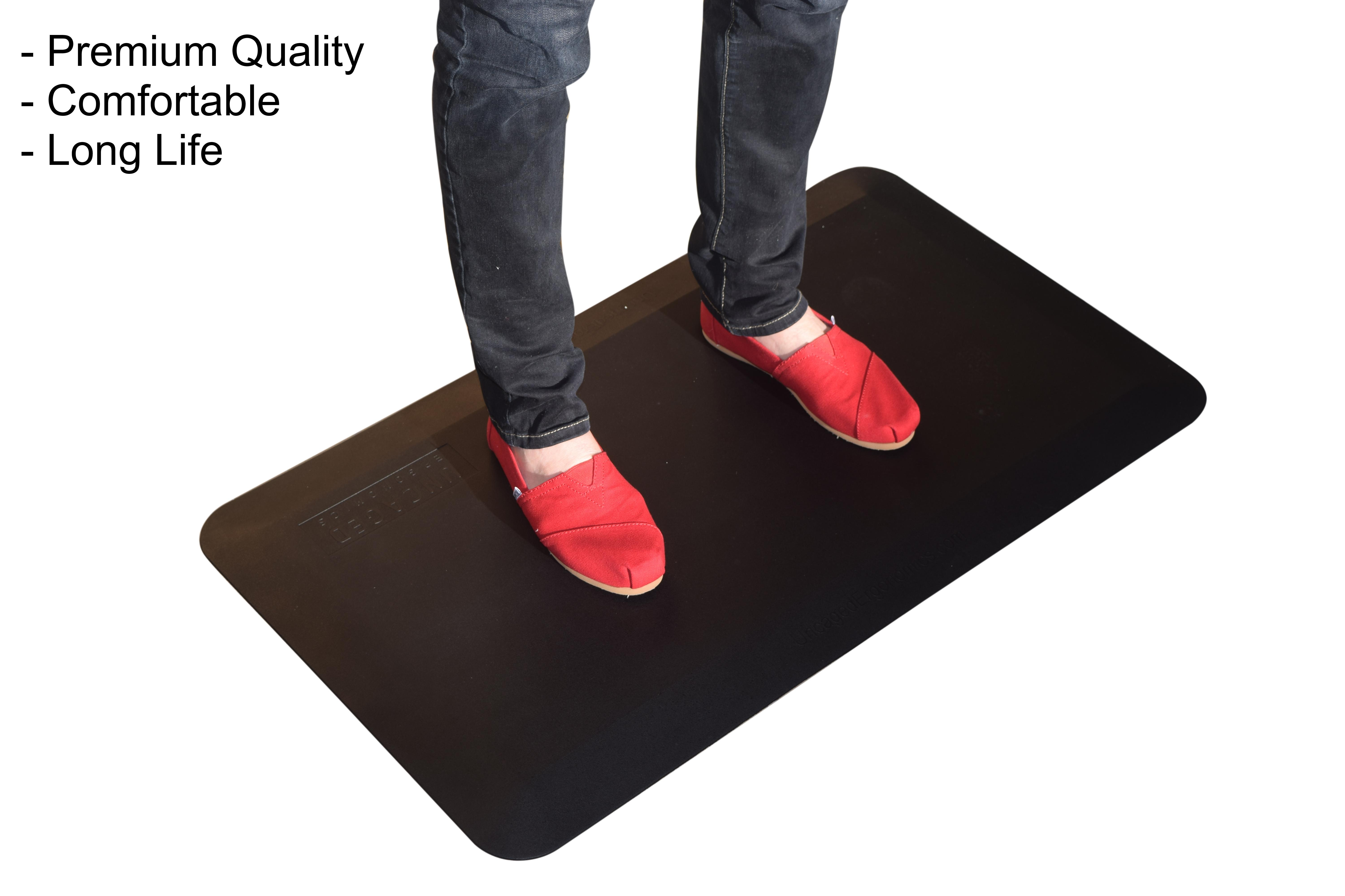 Thick Cushioned Anti Fatigue Floor Mat For Office Standing