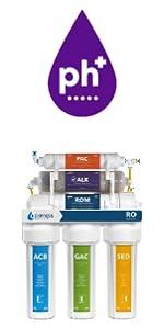 Alkaline reverse osmosis system