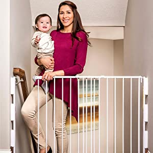 Regalo Extra Tall Baby Gate For Stairs