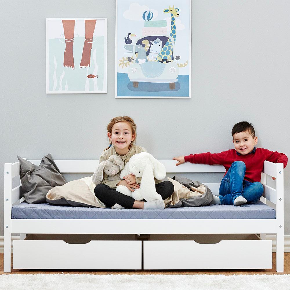hoppekids ida bett 30 0006 32 07m junior kinder kleinkinder jugendbett kiefer massiv in 5. Black Bedroom Furniture Sets. Home Design Ideas