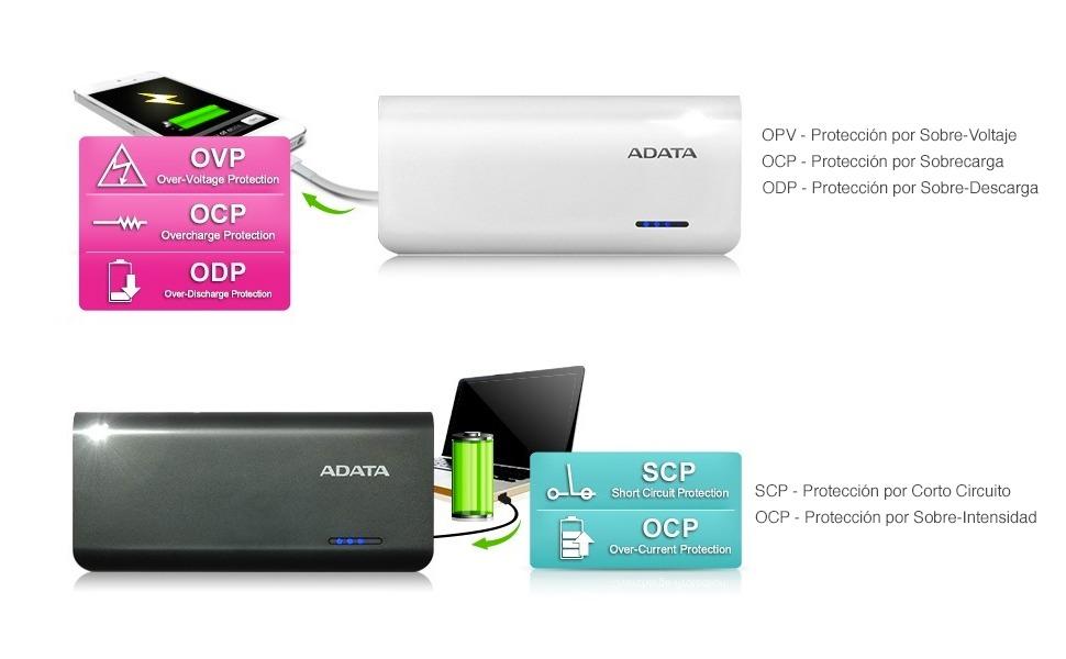 ADATA, ADATA México, PT100, Power Bank, Batería portátil, Mejor batería portátil
