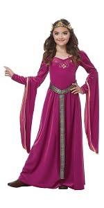 King Arthur, Lady Guinevere, Medieval Princess, Renaissance, Faire, Fair, Ren Fair, Queen Costume
