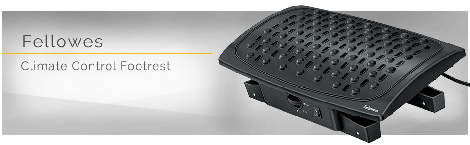 Amazon Com Fellowes Climate Control Footrest 8030901 Black Fellowes Foot Warmer Office Products