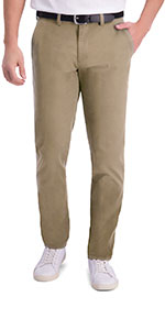 Haggar, haggar motion khaki, motion khaki, casual pants, casual khakis, slim tapered fit, flat
