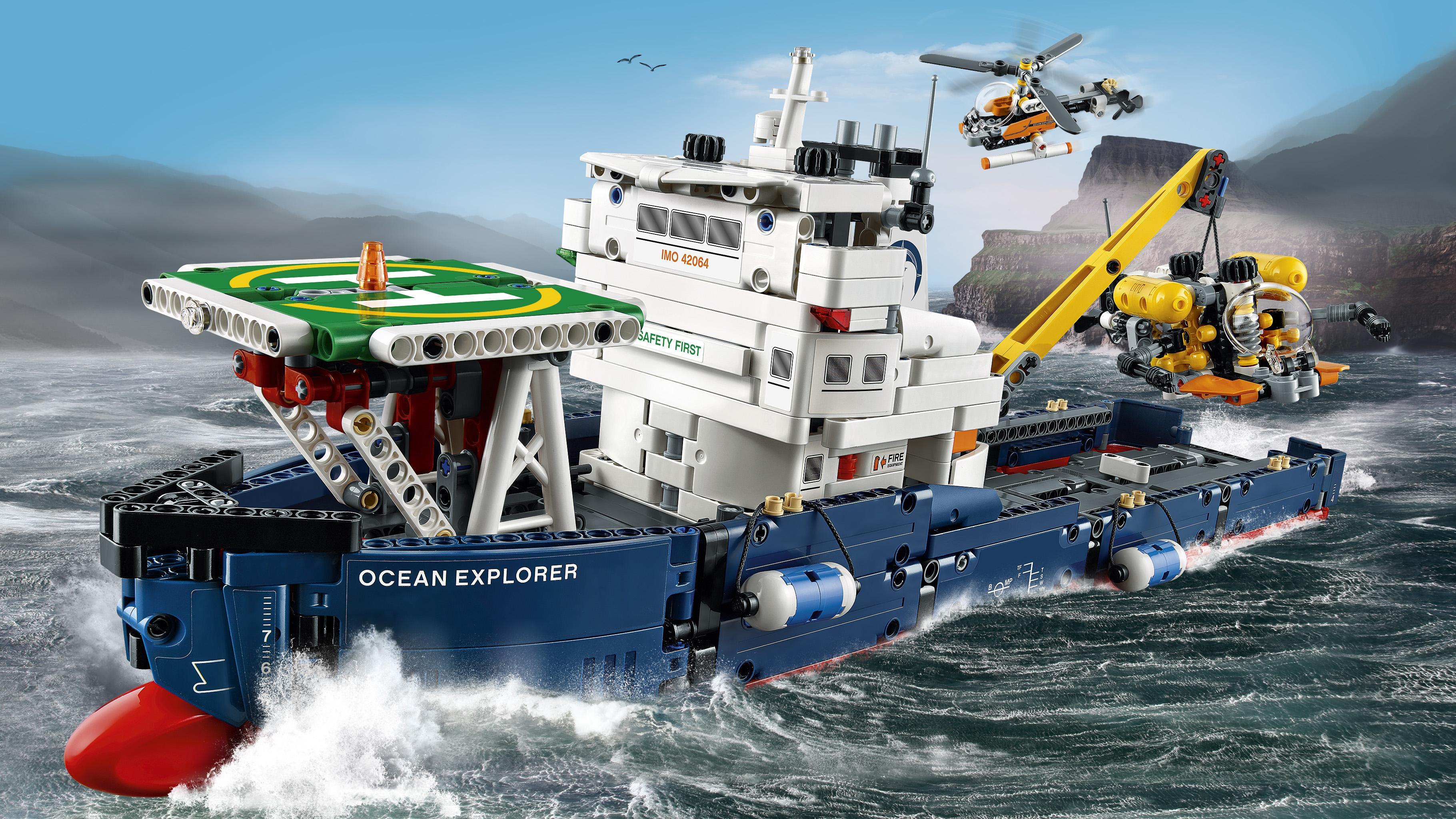 LEGO Technic 42064 - Forschungsschiff: Amazon.de: Spielzeug