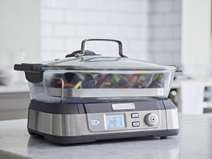 STM1000E, cuiseur vapeur, cuisson vapeur, Cuisinart, plateau