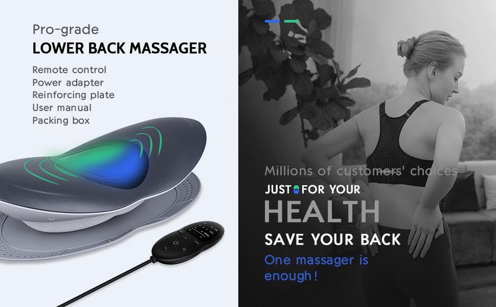 Lower Back Stretcher Massager