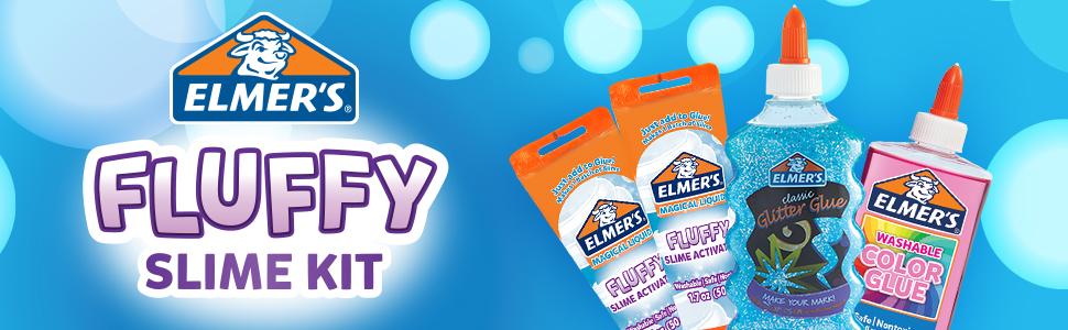 Fluffy Slime Kit