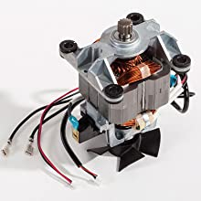 Powerful motor built for durability