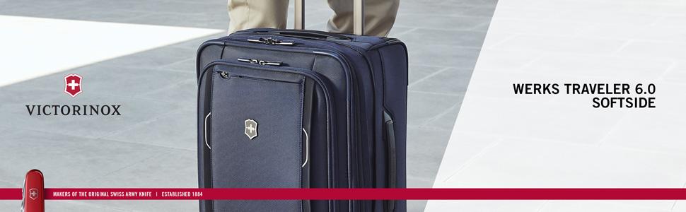df37237b0 Victorinox, Werks, Traveler, Carry On, Softside, Nylon, Luggage, Compliant