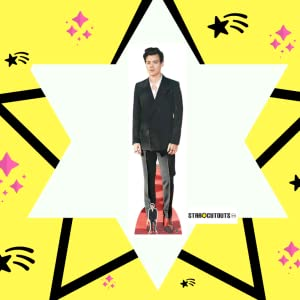 Star Cutouts Ltd Harry Styles Red Shoes Cardboard Multi Colour