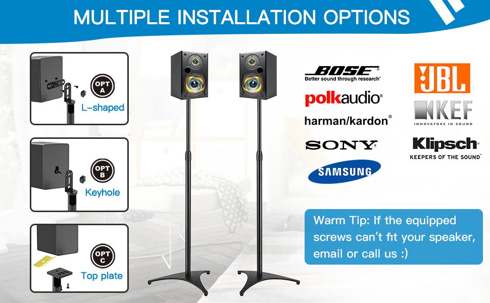 satellite speaker stand