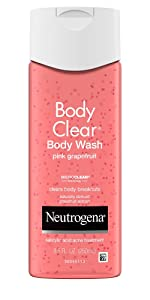 Neutrogena Body Clear Pink Grapefruit Acne Fighting Body Wash with Salicylic Acid