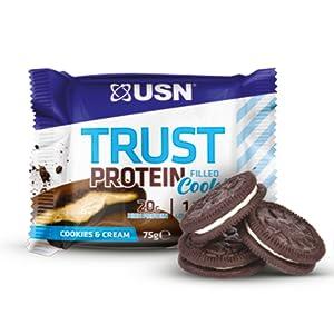 Galletas de sabor USN Trust rellenas de proteínas para tartas ...