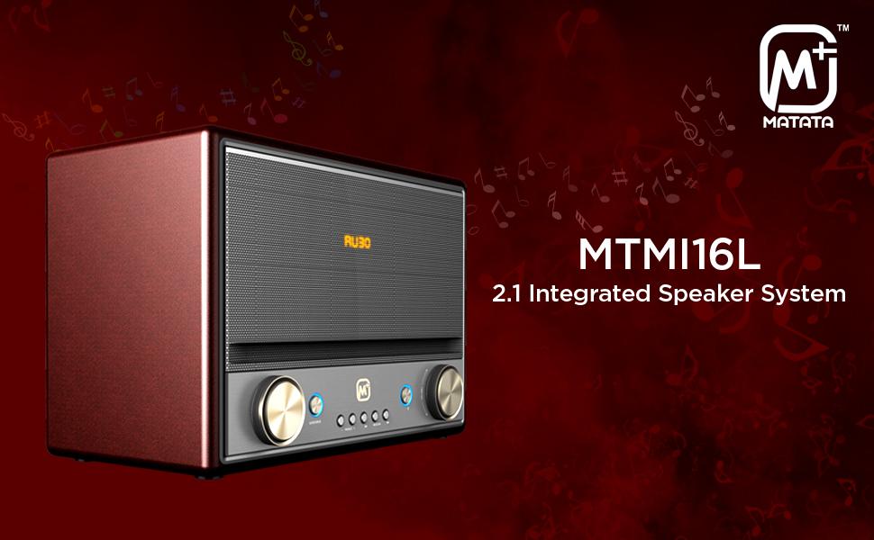 Matata MTMI16L 2.1 Integrated Speaker System