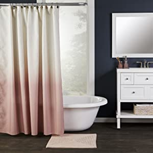 ombre, ombre shower curtain, pink shower curtain, vern yip, vern yip for skl home, vern yip decor
