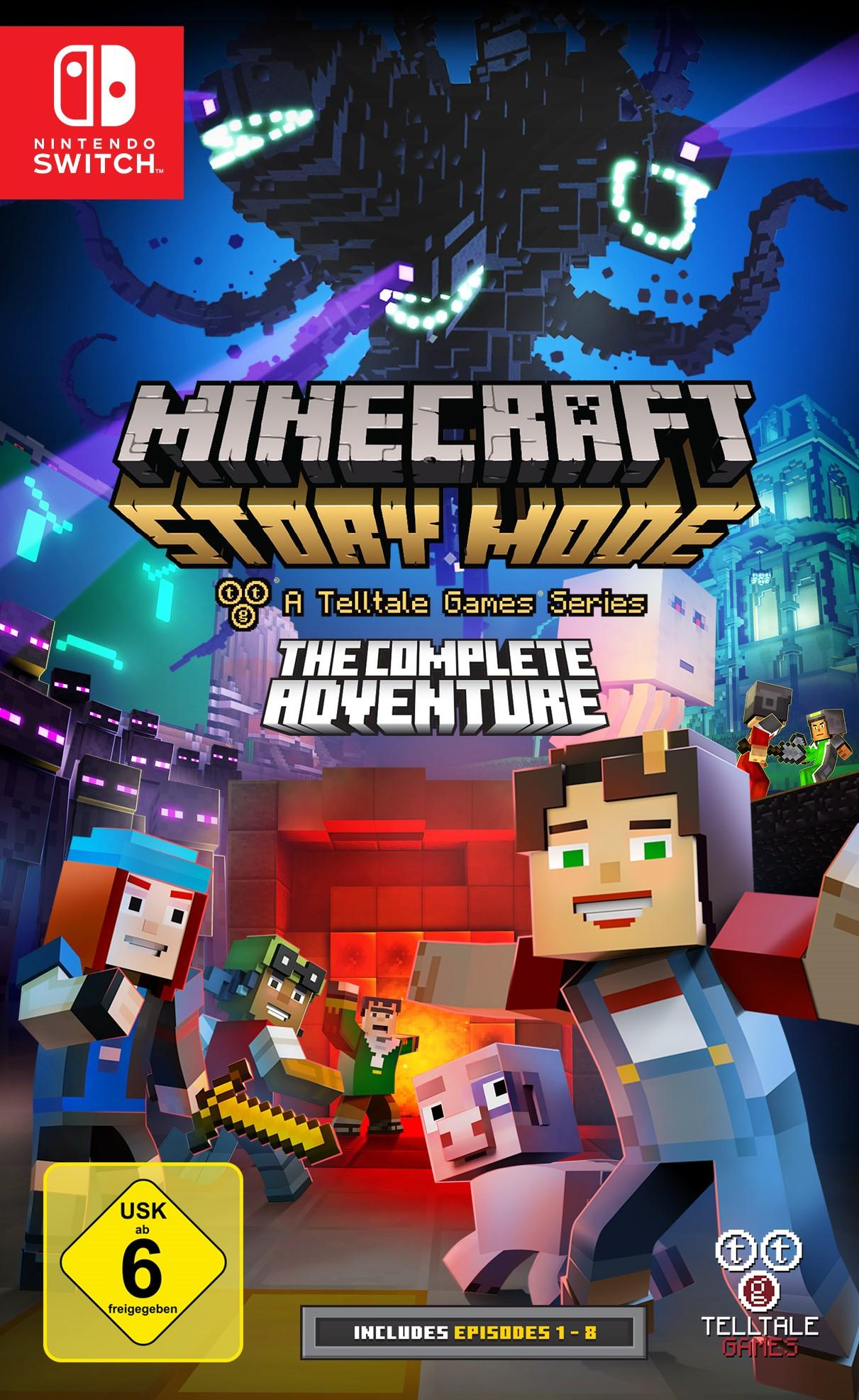 Minecraft Story Mode The Complete Adventure Nintendo Switch - Minecraft spielen fur pc