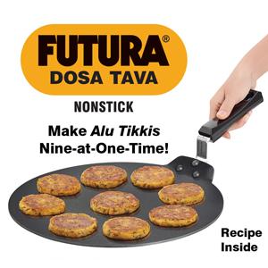 Hawkins Futura Non Stick Dosa Tawa 33cm, Non Stick Dosa Tawa, Dosa Tawa, Non Stick Tawa