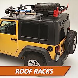Surco Products Inc Safari Urban Roof Top Rack Jeep SUV Van Car Aluminum Powder Coated