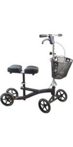 black knee scooter