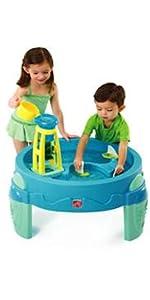 Waterwheel Play Table
