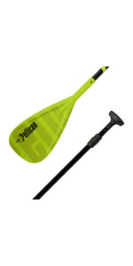 2-Piece Kids Alloy Sup Paddle Adjustable Stand Up Paddle For Youth